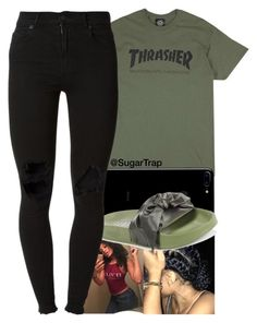 """""""Thrashaaa"""" by sugartrap ❤ liked on Polyvore featuring Puma and (+) PEOPLE"""