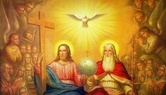 Image result for jesus sitting at the right hand of god images