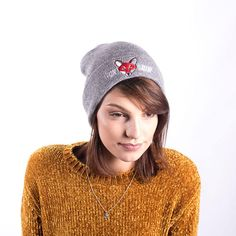 Light Grey Original Fox Soup Beanie Knitted Hats, Fox, Beanie, The Originals, Knitting, Trending Outfits, Grey, Unique, Clothes