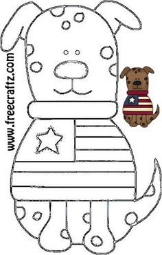 Americana Crafts - Dog