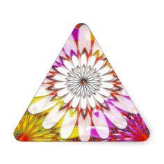 WHITE bright SUN Chakra Sunflower Yoga Mandala FUN Sticker