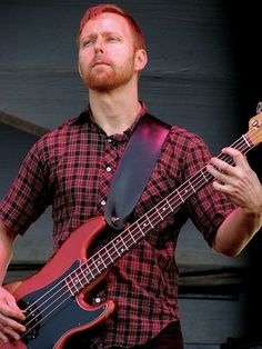 Nate Mendel of The Foo Fighters