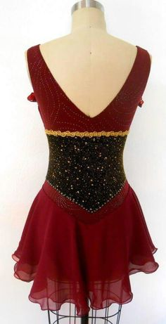 Custom Made Ice Skating dress by Zhanna Kens
