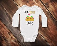 Taco Cat Spelled Backwards is Taco Cat Funny Bodysuit Jumpsuits Set Cute Baby Onesie Sleeveless Crazy Infant Boys Girls