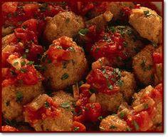 Ricette regionali > Calabria > Secondi: Polpette in agrodolce