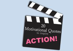 20 Motivational Quotes to Inspire Action via @VibeShifting #motivation #quotes