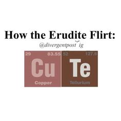If guys flirted with me using elements, I would go our with him.