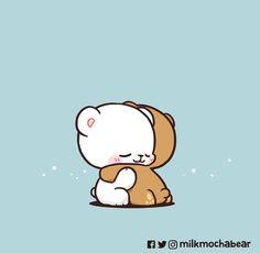 Cute Cartoon Images, Cute Love Cartoons, Cute Cartoon Wallpapers, Cute Hug, Cute Love Gif, Cute Bear Drawings, Cute Cartoon Drawings, Cute Emoji Wallpaper, Bear Wallpaper