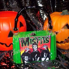 Handmade Misfits Album Art Cigar Box Purse, one of a kind. SOLD etsy.com/shop/PhantomBoxPurses