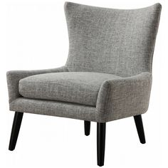 TOV Sullivan Grey Linen Chair TOV-A42G