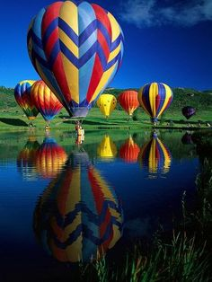 Hot Air Balloons, Snowmass CO  http://www.pagosaspringsluxproperties.com