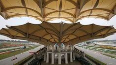 Sepang Race Circuit Canopy Design. Canopy Architecture, Landscape Architecture, Sepang, Canopy Design, Urban Design, Patio, Building, Circuit, Outdoor Decor