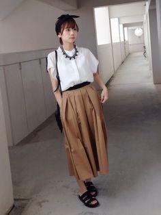 浅倉 まい|KBFのスカートを使ったコーディネート - WEAR