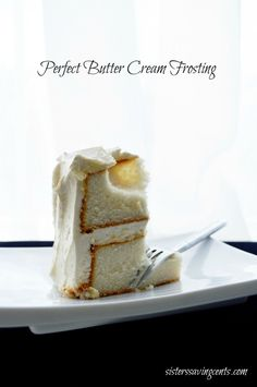 The best buttercream frosting you will ever make