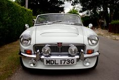 Historics at Brooklands - Specialist Classic and Sports Car Auctioneers - Ref 3 1968 MGC Roadster