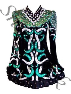 Shamrock Stitchery Irish Dance Solo Dress Costume