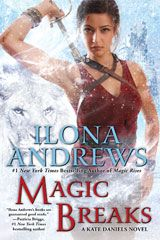 "Magic Breaks!  The seventh in Ilona Andrews' ""Kate Daniels"" series is due out in June. The Ilona Andrews team is the best Urban Fantasy authors out there! Counting the days!"