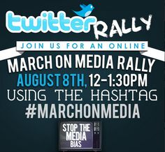 Pro-Life March on Media Twitter rally August 8
