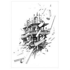 VOLATILIDAD vol.4. Original work of #caynsanchez. #Stylograph on #paper. #ilustration #ilustracion #dibujo #drawing #Artwork #Barcelona