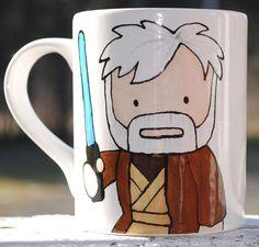 Taza a la Obi Wan Kenobi