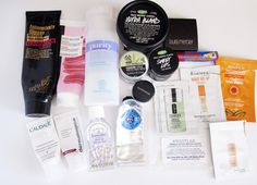 used up beauty products  http://wewereraisedbywolves.blogspot.co.uk/