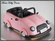 A pink car for your daugther's very special birthday!