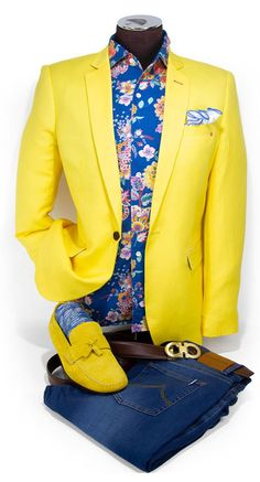 Special Occasion Outfits For Men's Blazer Outfits Men, Mens Fashion Blazer, Suit Fashion, Casual Outfits, Sharp Dressed Man, Well Dressed Men, Casual Wear For Men, Casual Man, Mode Costume
