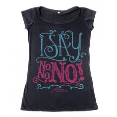 Camiseta Fem. Say No - Femininas - Camisetas