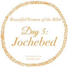 Jochebed showed great trust in God's faithfulness. She had faith in God's protection of her baby.  When Jochebed placed little Moses in the Nile River that day, she could not have known that he would grow up to be one of God's greatest leaders. By trusting God, an even greater dream was fulfilled. Like Jochebed, we won't always foresee God's purpose in letting go, but we can trust that his plan is even better than anything we can imagine