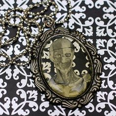 Walking Dead  Cameo Necklace by stoopidgerl on Etsy, $25.00