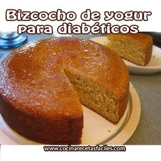 going to be exciting seeing that new It was for me! Diabetic Cake, Diabetic Desserts, Diabetic Recipes, Cure Diabetes Naturally, Diabetes Remedies, Sin Gluten, Sugar Free, Cake Recipes, The Cure
