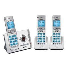 Vtech 17550 Triple DECT 6.0 Cordless Phone CLS17552 - $79.20 (AUD)