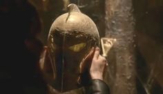 New Constantine trailer shows us Dr. Fate's helmet