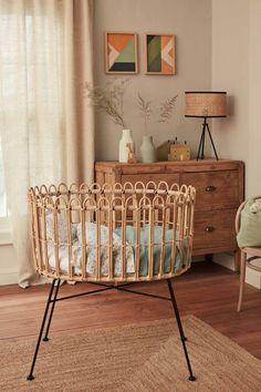 Zara Home Polska Boho Nursery, Nursery Neutral, Nursery Room, Kids Bedroom, Zara Home Baby, Zara Home Kids, Zara Baby, Kids Interior, Casa Kids