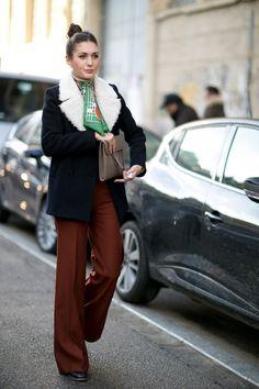 Get the Streetstyle Look: 2 perfekte Outfits von Diletta Bonaiuti