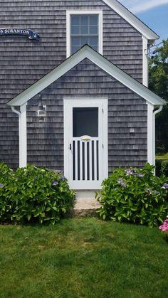 Wooden Screen Storm Door 039 Custom Screen Doors, Wooden Screen, Exterior Paint Colors For House, Interior And Exterior, Adirondack Chairs, Shutters, Porch, Garage Doors, Cottage