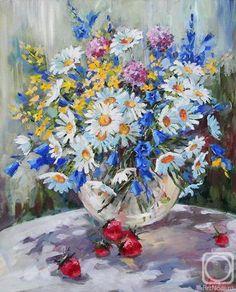 Гроза Людмила. Полевые цветы