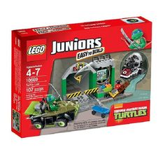 """This is a great gift for Christmas """"LEGO 10669 Juniors Teenage Mutant Ninja Turtles Lair"""". Please visit us at http://www.facebook.com/lanashop2000 for more details. Thank you."""