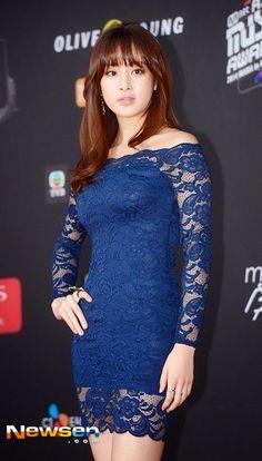 Kang So-Ra 강소라 2014 MAMA Korean Star, Korean Girl, Kang Sora, Asian Models, Korea Fashion, Korean Beauty, Ms, Dresses With Sleeves, Actresses