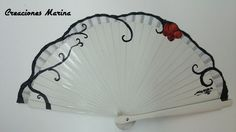 Pintado a mano Hand Held Fan, Hand Fans, Painted Fan, Hand Painted, Vintage Umbrella, Fan Decoration, Hot Flashes, Beautiful Hands, Victorian