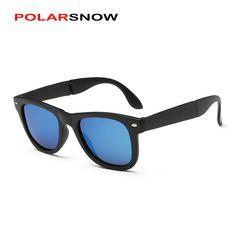 Foldable High Quality Polarized Sunglasses For Men Women New 2017 Fashion Brand Sun Glasses Goggles Outside UV400 Oculos De Sol