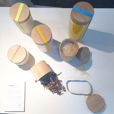 the Burks system, a reusable food packaging system, designed to eliminate disposable packaging