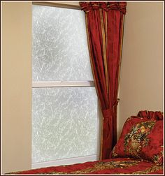 Austin is a versatile rice paper or cracked glass privacy design that goes with any decor. It can be used on small areas like glass cabinet doors or larger… Garage Door Windows, Glass Garage Door, Glass Cabinet Doors, Sliding Glass Door, Windows And Doors, Window Privacy, Privacy Glass, Frosted Window Film, Window Films