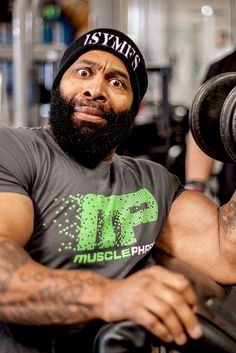CT Fletcher knows a thing or fifty about building monstrous biceps and triceps. Think you can hang? Get ready to command your muscles to grow!