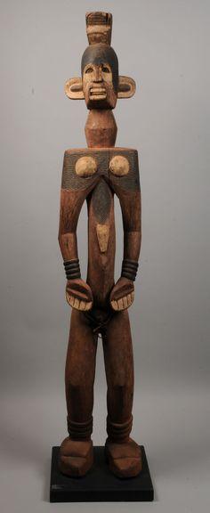 Africa | Igbo Figure | Nigeria. c. 1950s http://www.auctionatrium.com/index.php?page=view_item=9790=83