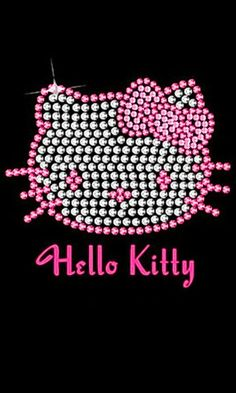 Hello Kitty themed bedding and bedroom decor: Ready to glam up the bedroom Hello Kitty Style? It's an easy 'do it yourself' project with our featured themed bedding featuring favorite colors and of course, Hello Kitty. Images Hello Kitty, Chat Hello Kitty, Here Kitty Kitty, Hello Kitty Backgrounds, Hello Kitty Wallpaper, Phone Backgrounds, Wallpaper Backgrounds, Hello Kitty Bedroom, Little Kitty
