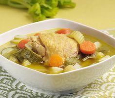 Caldo de pollo | Cocina y Comparte | Recetas de @cocina al natural que puede interesar a @Canal Cocina @Cocina Con Alegría