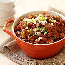 Een variatie op de traditionele chili con carne. Met kip smaakt het net zo lekker! - Weight Watchers Be