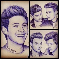 Dear person who drew these,  I need some of your talent. This is ridiculously unreal. These are amazing. You will be famous someday.  Sincerely,  I can doodle. Sort of.