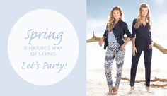 Spring is nature's way of saying let's party! New pictures coming soon! Stay in touch..